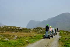 Segways in Glen Miavaig 2014