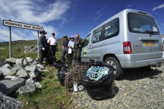 Beach clean at Meavaig