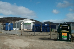 North Harris Community Recycling Site at Urgha