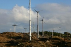 Wind Turbines in West Tarbert