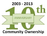 10th Anniversary of Community Ownership - 2003 to 2013