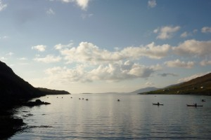 Sea Kayaking in West Loch Tarbert